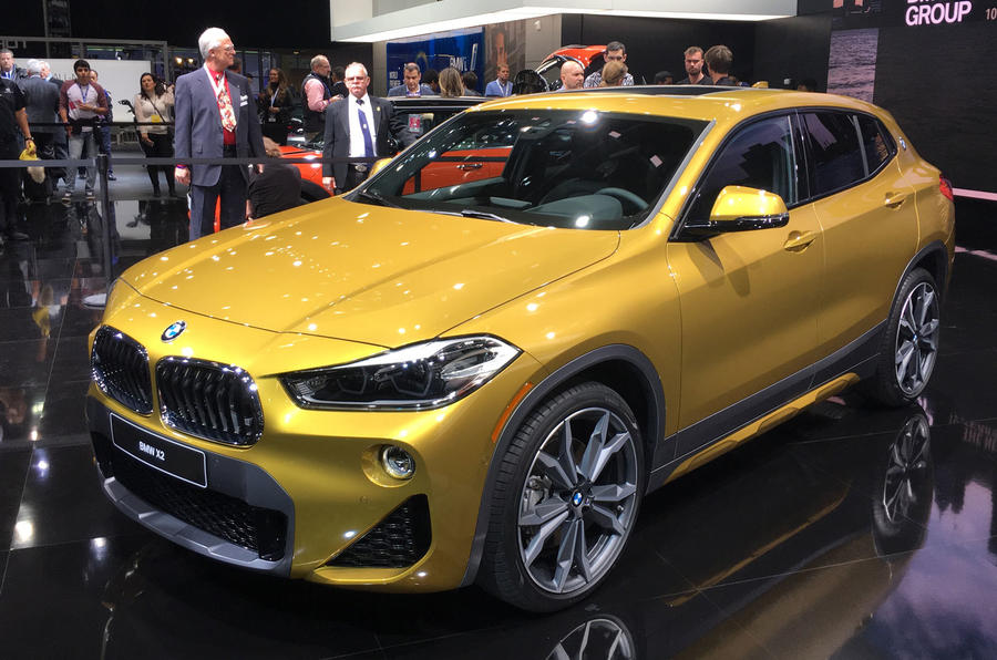 new bmw x2 shown in detroit ahead of march arrival autocar. Black Bedroom Furniture Sets. Home Design Ideas