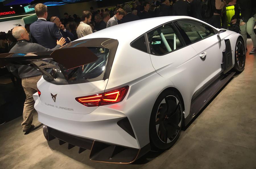 Cupra unveils e-Racer electric racing car