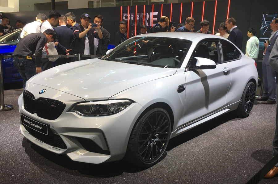 2018 Bmw M2 Competition New Pictures Of M4 Engined Coupe