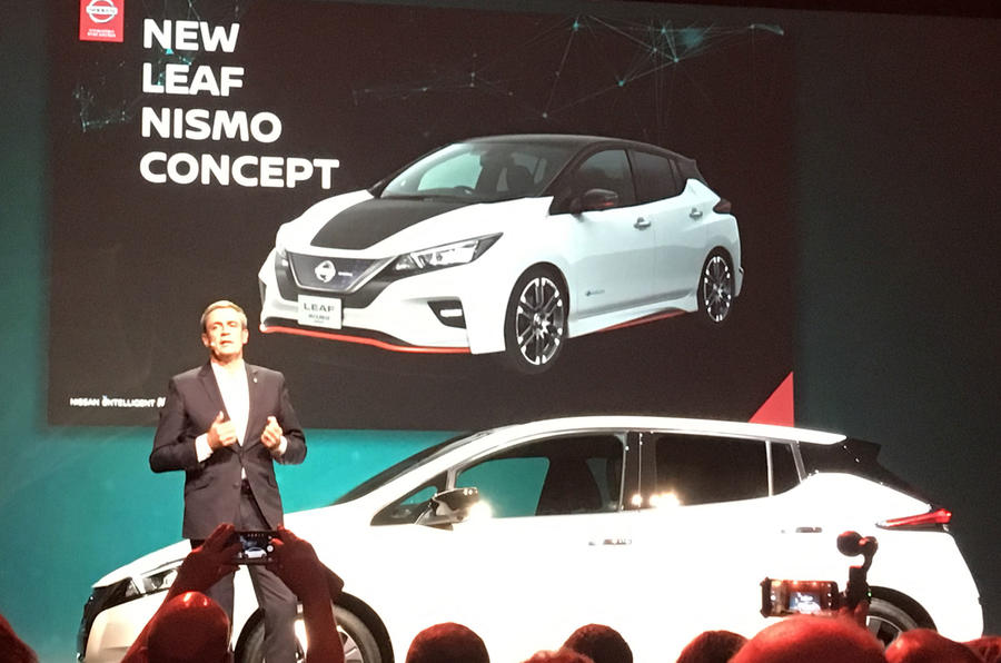 Nissan Leaf Nismo confirmed with concept reveal