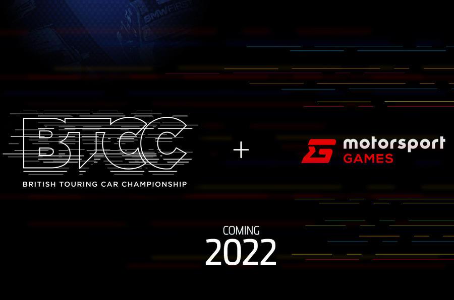 BTCC motorsport games partnership