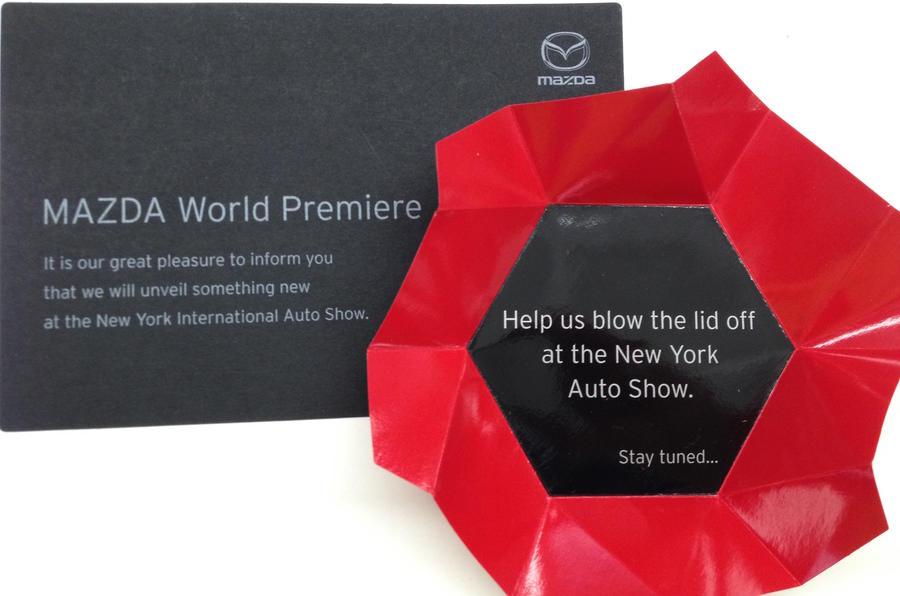Mazda invite