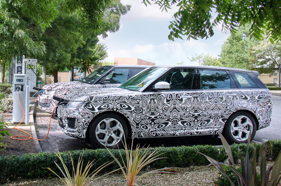 Range Rover plug-in hybrid confirmed for 2017 launch