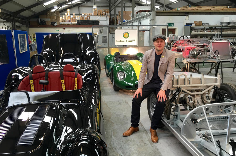 Iconic Lister Knobbly sports vehicle returns with road-going continuation models