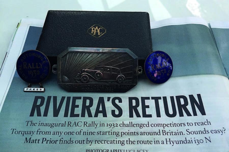 1932 RAC Rally