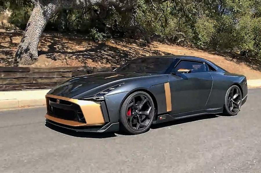 First drive: Nissan GT-R50 by Italdesign concept   Autocar