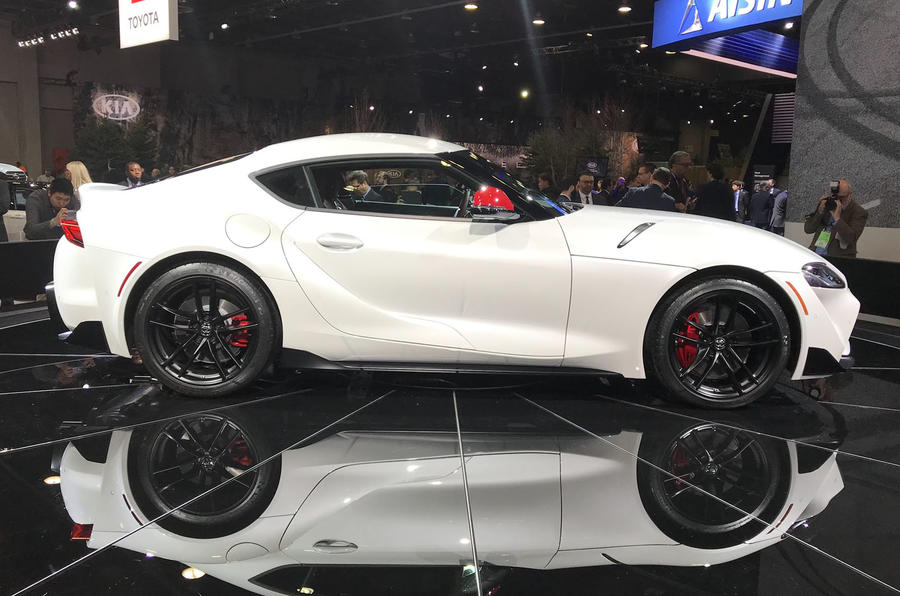 New 2019 Toyota Supra Official Images Specs And Prices