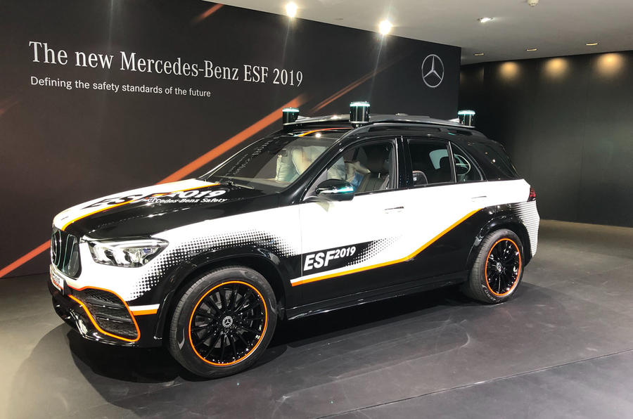 Mercedes-Benz ESF 2019 concept - Frankfurt show