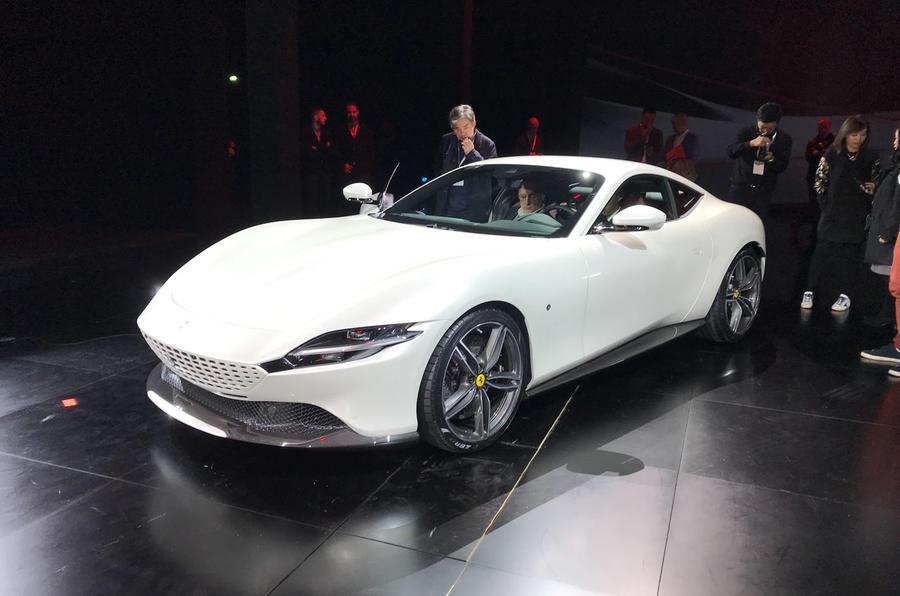 Ferrari Roma white 1