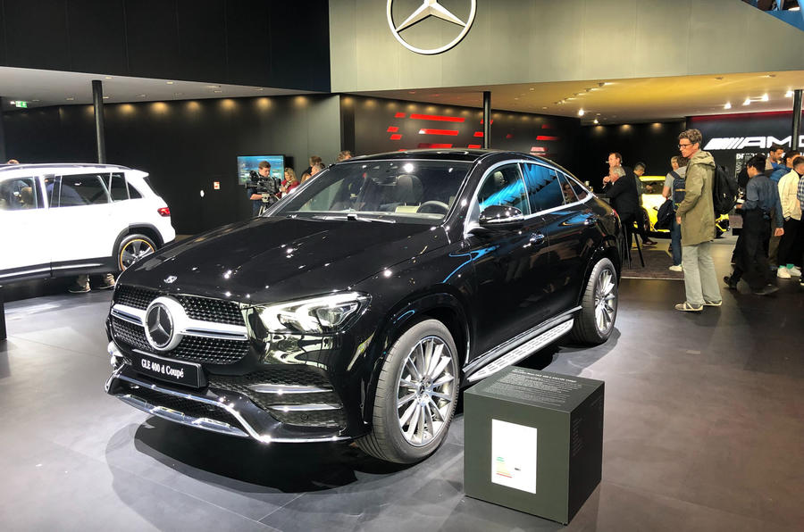 2019 Mercedes-Benz GLE Coupe Frankfurt appearance