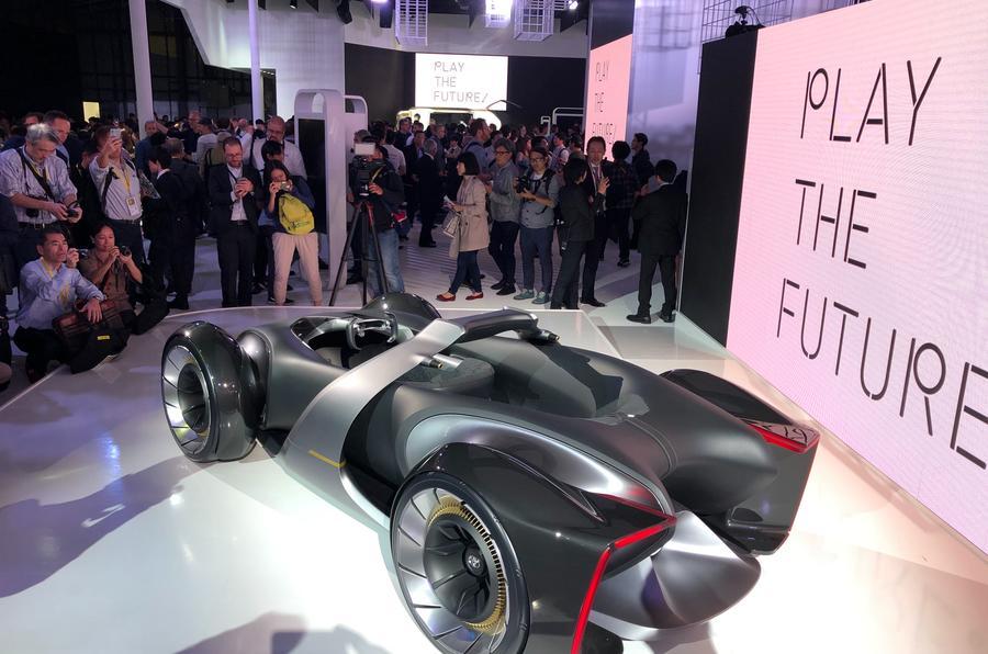 2019 Toyota e-Racer concept at Tokyo motor show