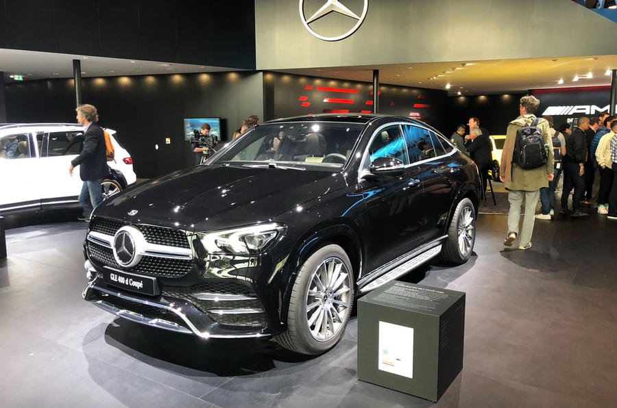 2019 Mercedes-Benz GLE Coupe at Frankfurt