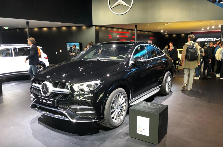 2019 Mercedes-Benz GLE Coupe at Frankfurt