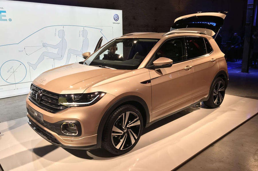 Volkswagen T-Cross 2019 official reveal event - bronze