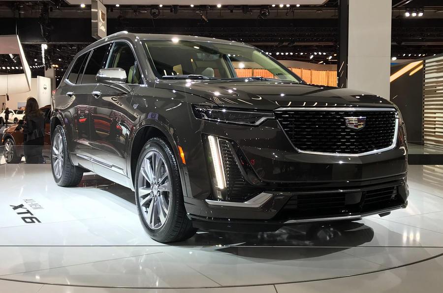 Cadillac unveils new XT6 large SUV in Detroit | Autocar