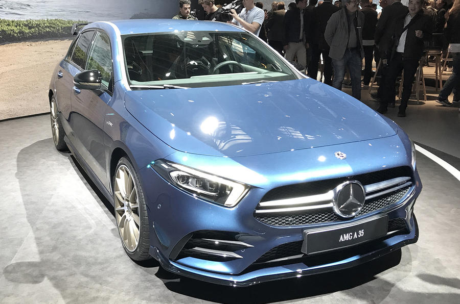 Mercedes-AMG A35 revealed with 302bhp