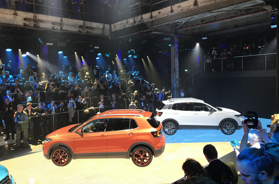 Volkswagen T-Cross 2019 official reveal event - colours