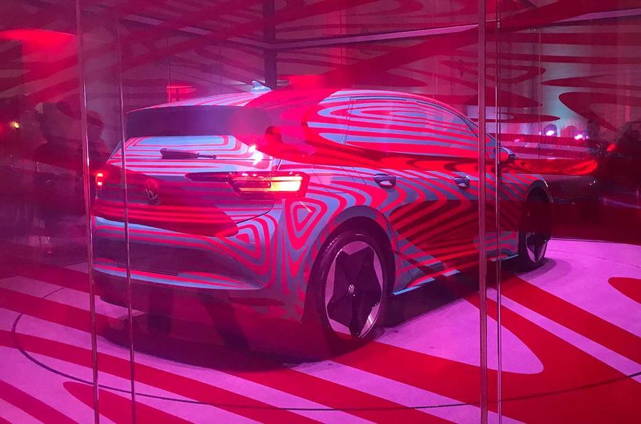 VW ID 3 rear three quarters