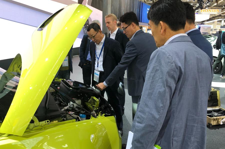 Honda e at Frankfurt motor show