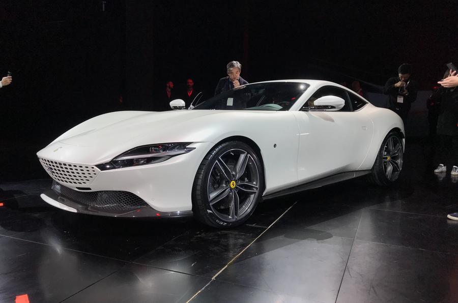 Updated More details on new V8,powered Ferrari Roma