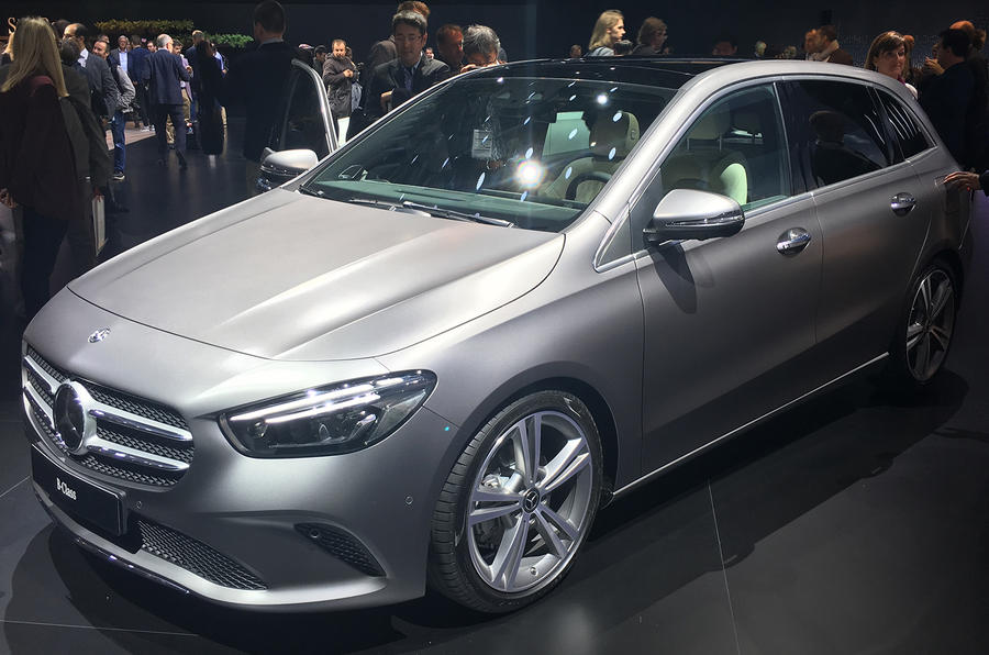 New Mercedes-Benz B-Class revealed