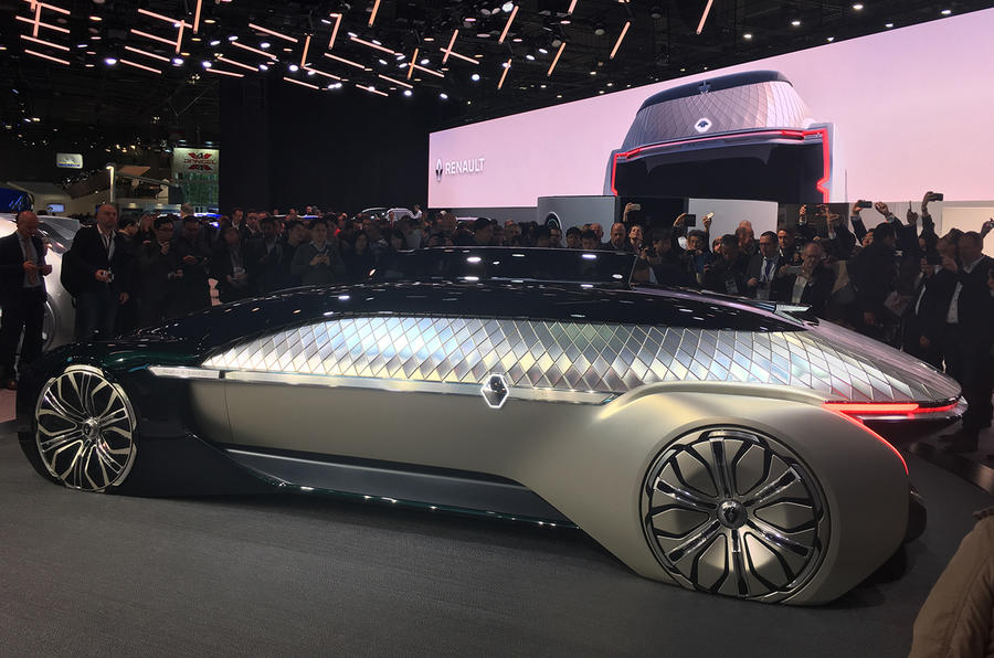 Renault Ez Ultimo Is Luxury Self Driving Limo Autocar
