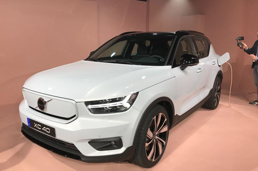 Volvo XC40 Recharge: Brand's first electric vehicle unveiled