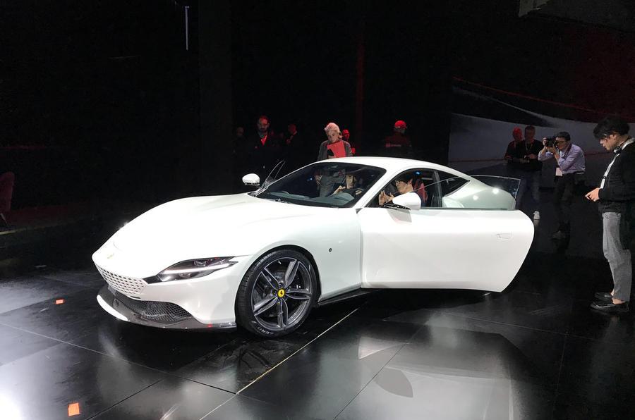 Ferrari Roma white 3