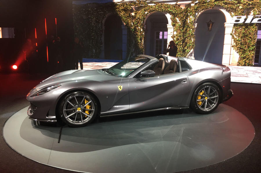 Ferrari 812 GTS reveal - static side