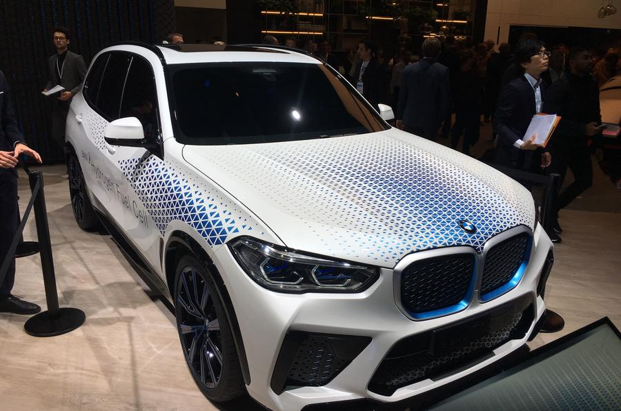 BMW i Hydrogen Next at Frankfurt motor show