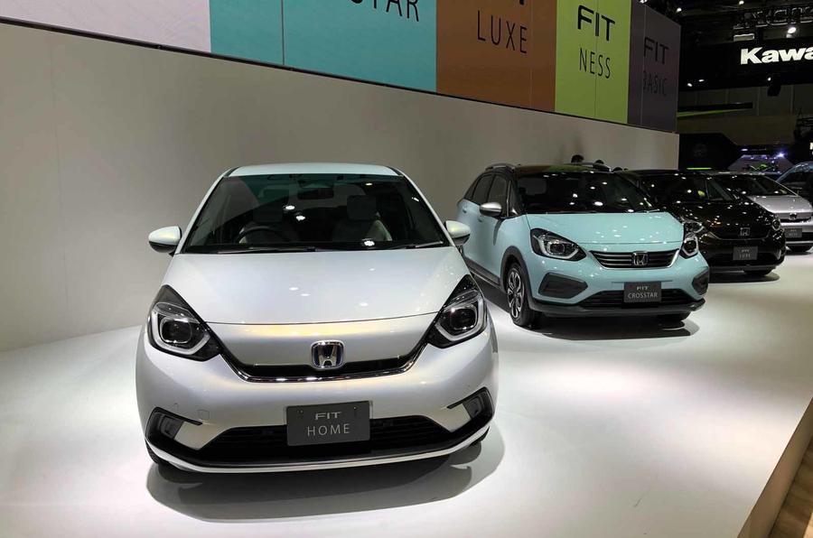Honda Jazz revealed in Tokyo three