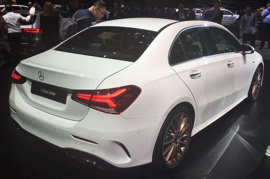 Mercedes-Benz A-Class Saloon on sale in Britain from £27,875