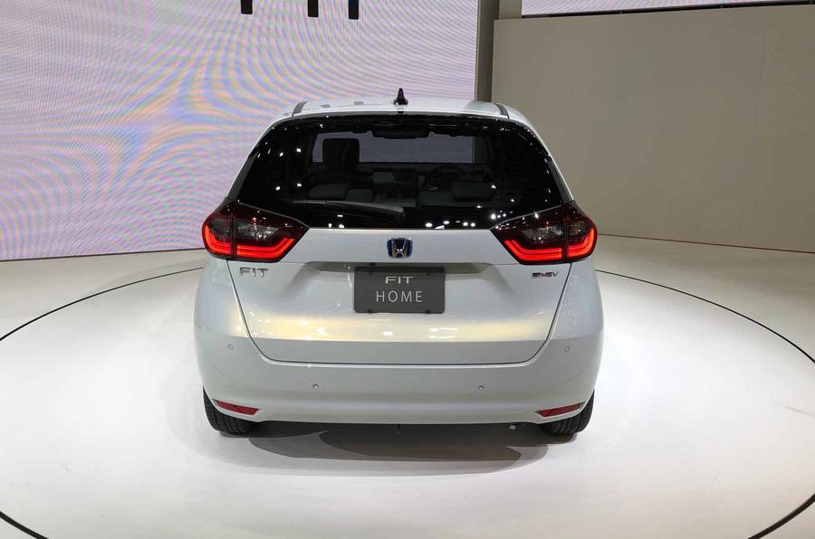 Honda Jazz revealed in Tokyo rear