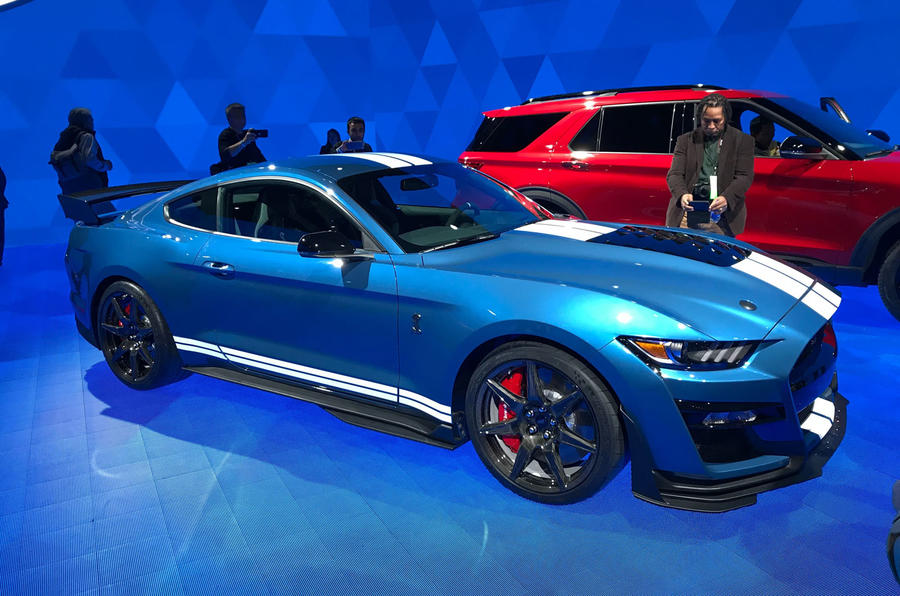 New Ford Mustang 2019 Convertible Coupe Ford Uk >> 2019 Shelby Gt500 Revealed As Fastest Road Going Ford Mustang Ever