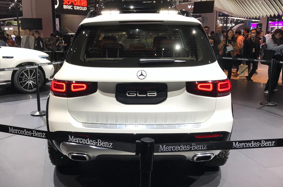 Mercedes-Benz GLB concept - rear