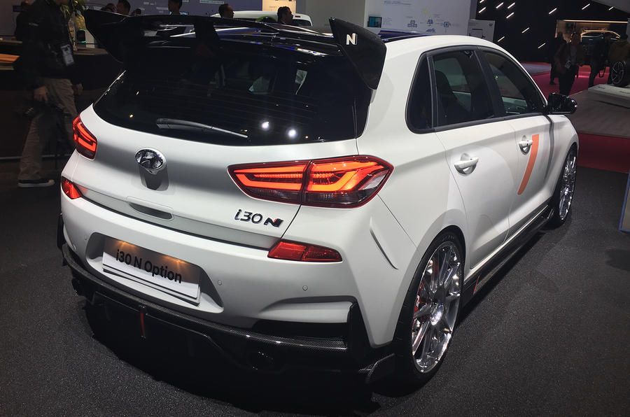 Hyundai I30 N N Option Showcases Customisation Range
