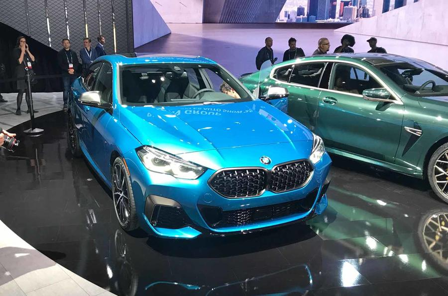 BMW 2 series gran coupe at LA show