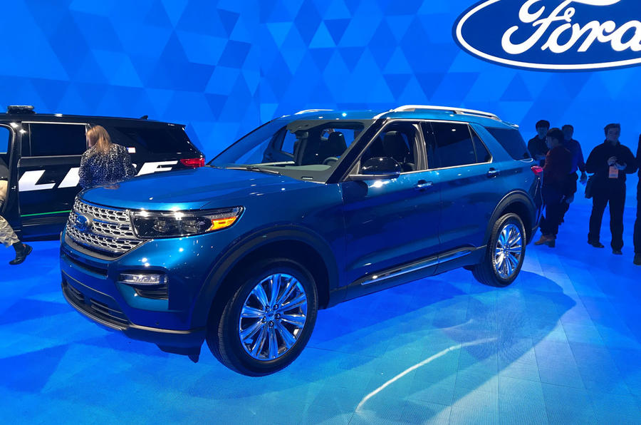 New Ford Explorer >> New Ford Explorer Suv Destined For Uk Autocar
