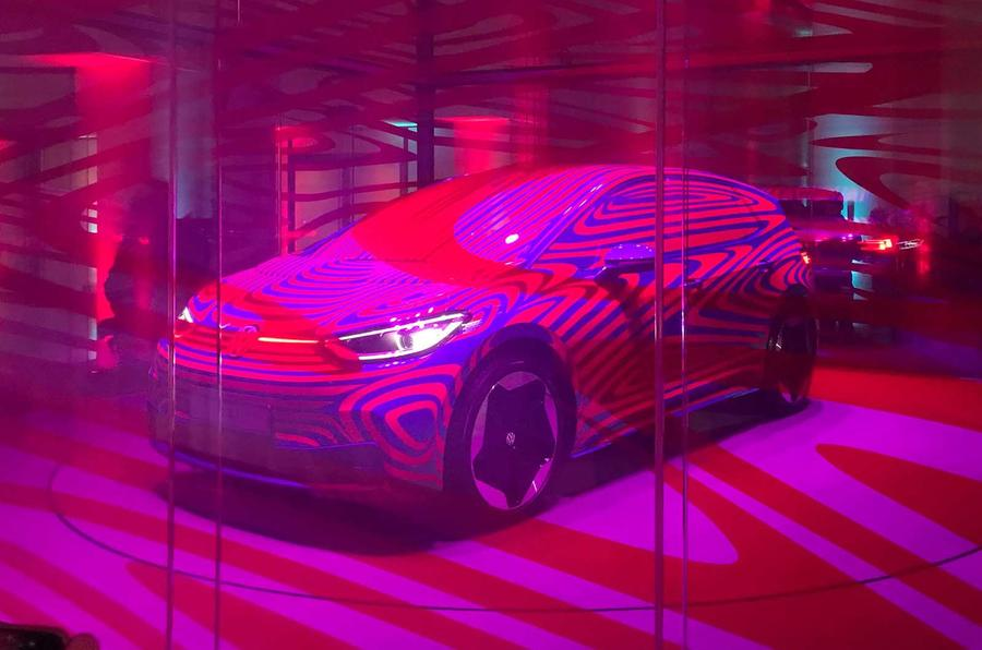 VW ID 3 front three quarters