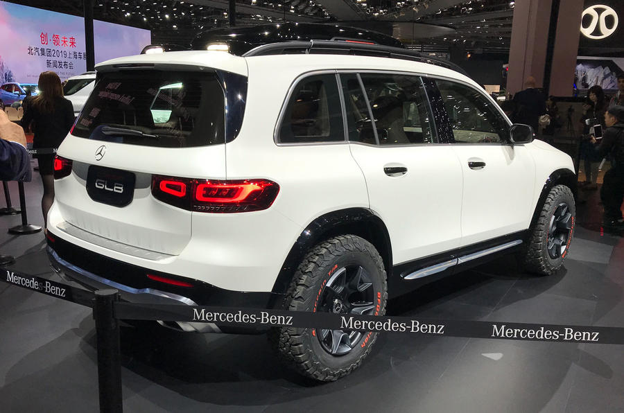 Mercedes-Benz GLB concept - rear 3/4