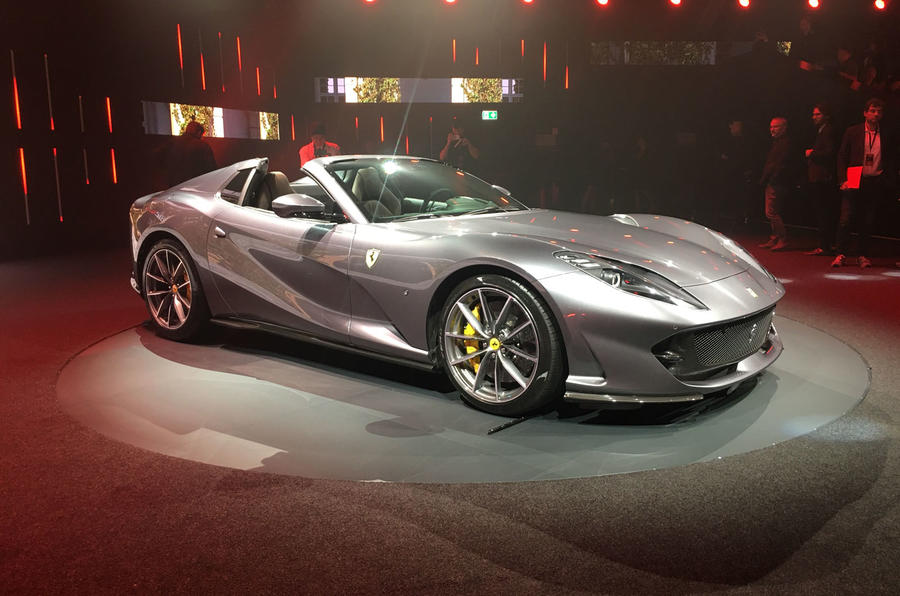 Ferrari 812 GTS reveal - static front