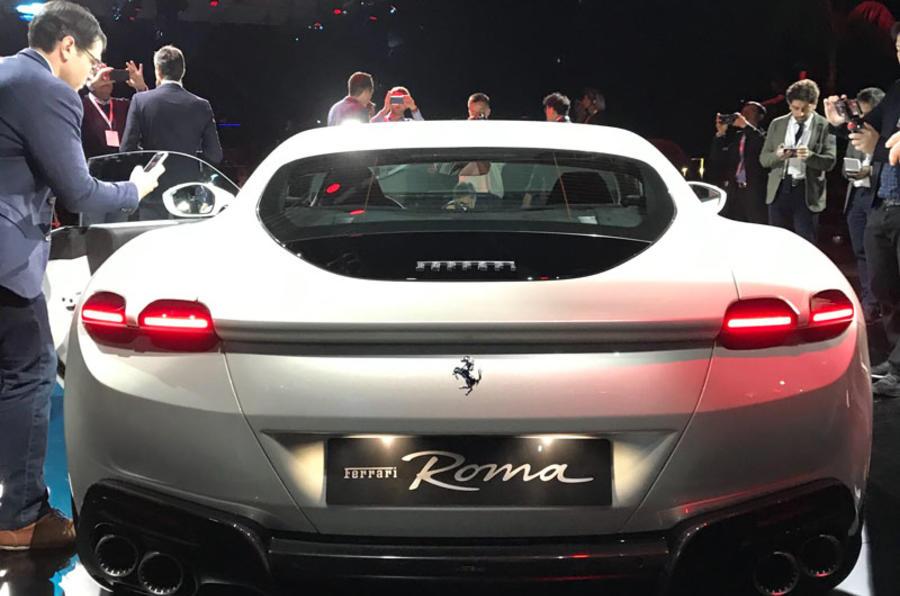 Ferrari Roma white 4