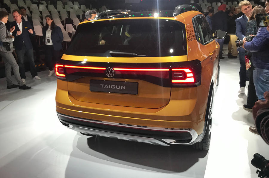 Volkswagen Taigun (2020) - rear