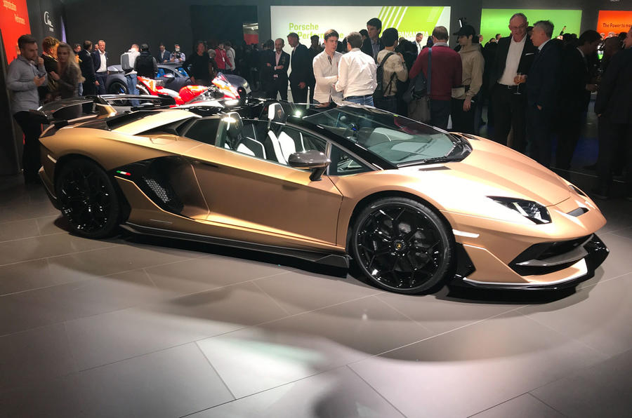 Lamborghini Aventador Svj Roadster Revealed With 759bhp Autocar