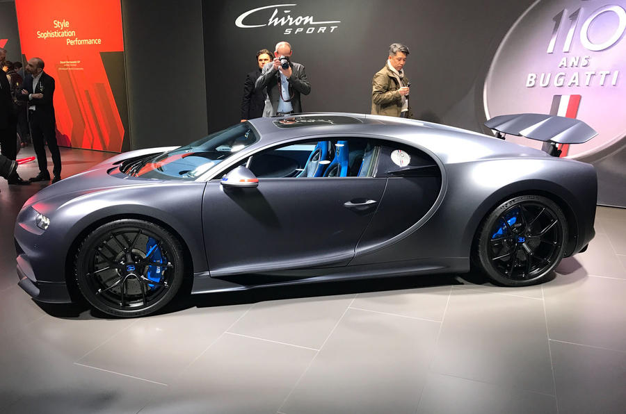 Bugatti Celebrates 110th Anniversary With Chiron Sport 110