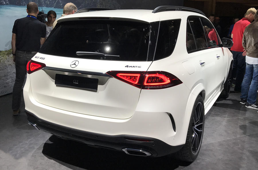 2019 Mercedes GLE gets long-range hybrid and trick suspension