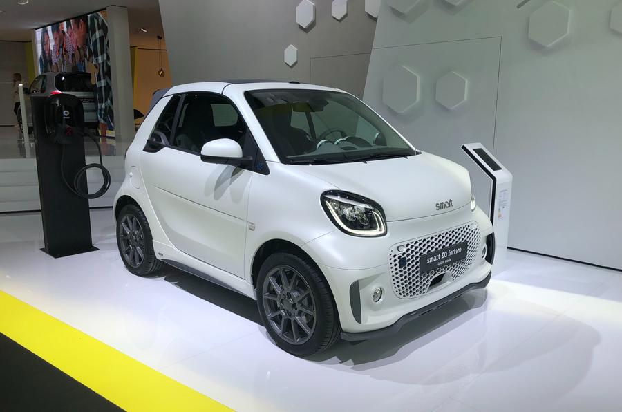 2020 Smart Fortwo EQ reveal - static front