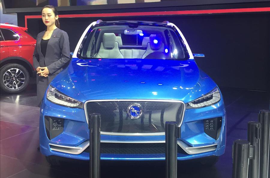 Hanteng EV – Jaguar F-Pace clone