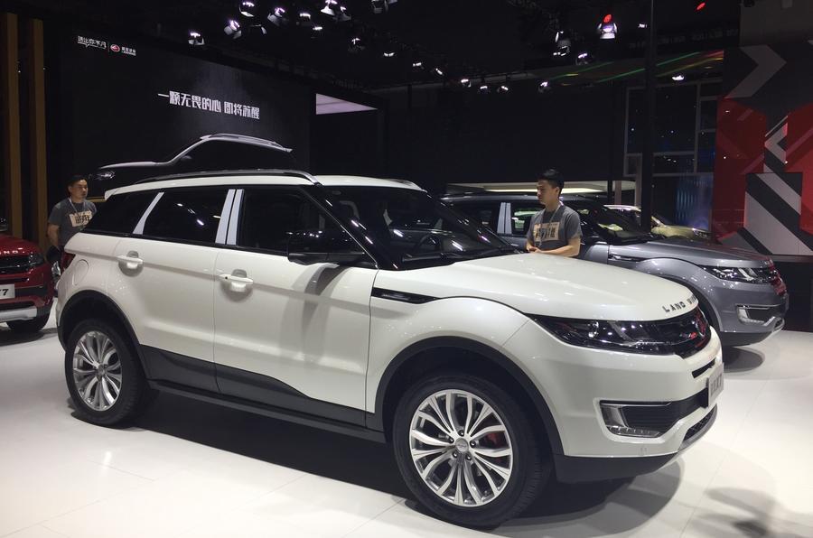Landwind X7 Range Rover Evoque clone