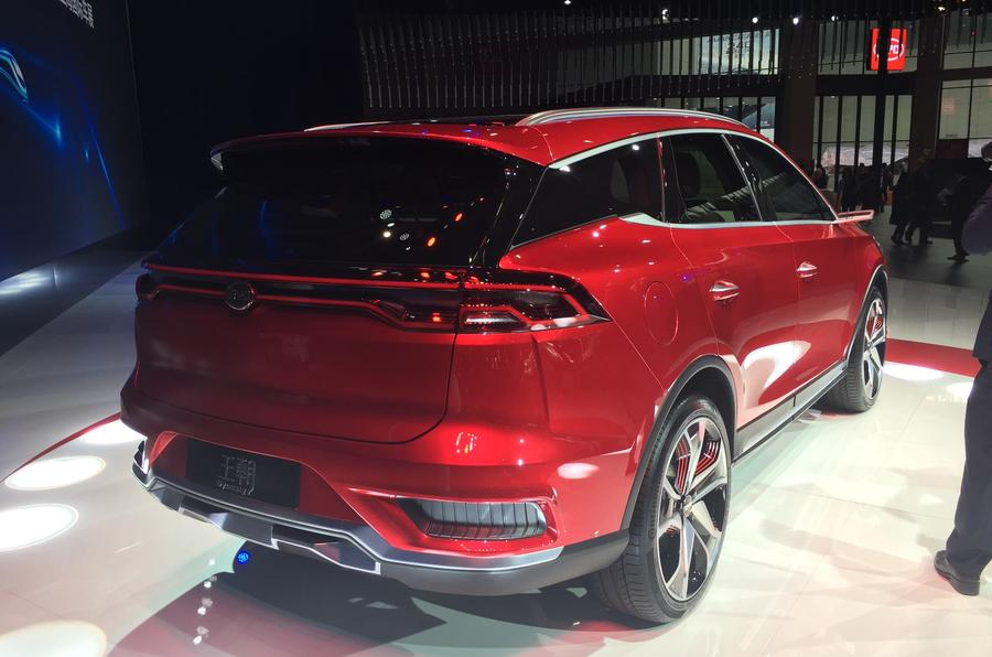 BYD Dynasty electric prototype